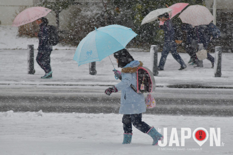 Neige à Yokohama
