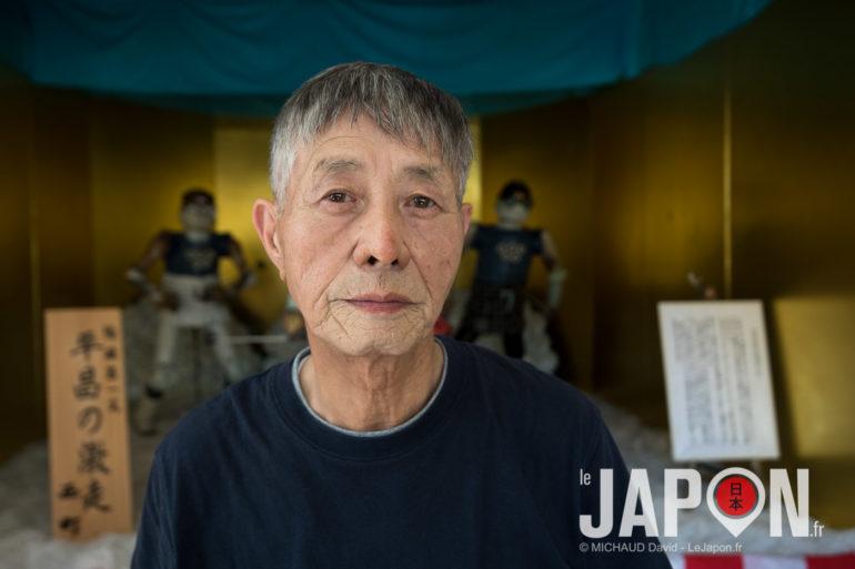 Kanou san maitre de sculptures en porcelaine à Izumo