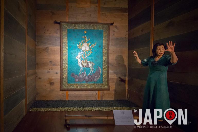 Mutsuko Yawatagaki san directrice du Izumo Museum of Quilt Art