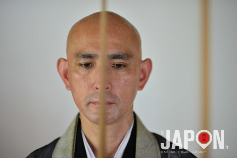 Méditation Zen au templeIchibata-ji d'Izumo avec le prêtre Iizuka san