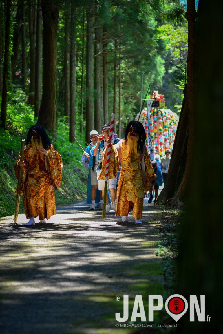 Matsuri au sanctuaireIchimori Jinja